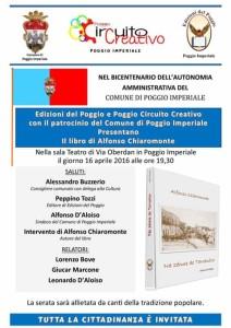 Locandina libro Alfonso 2016
